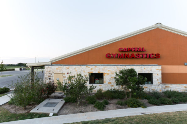 Capital Gymnastics Signage by Link Architecture