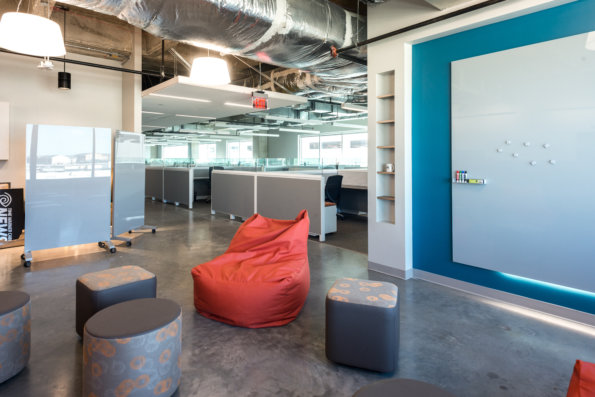 TWC At The Domain's Hanging Out Space by Link Architecture