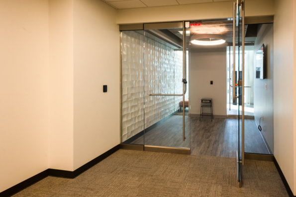 TWC At The Domain's Lobby Doors by Link Architecture