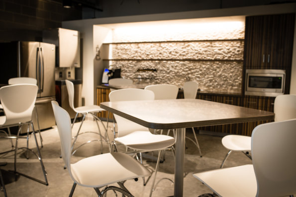 TWC At The Domain's Eating Area by Link Architecture