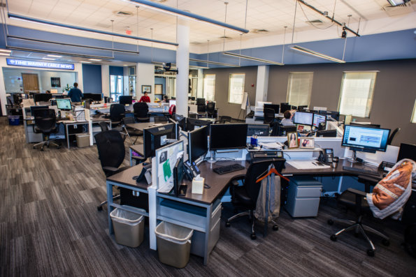 TWC News Open Room by Link Architecture