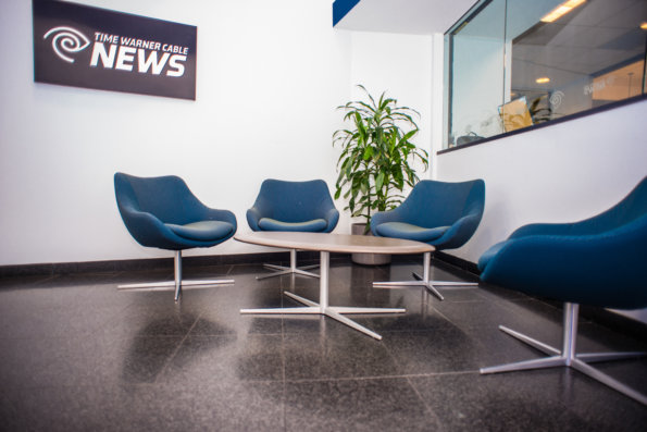 TWC News Waiting Room by Link Architecture